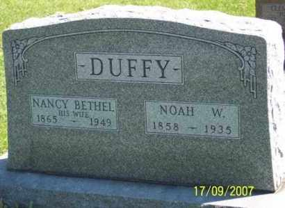 DUFFY, NOAH W. - Ross County, Ohio | NOAH W. DUFFY - Ohio Gravestone Photos