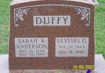 DUFFY, SARAH R. - Ross County, Ohio | SARAH R. DUFFY - Ohio Gravestone Photos