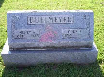 DULLMEYER, CORA E. - Ross County, Ohio | CORA E. DULLMEYER - Ohio Gravestone Photos