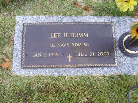 DUMM, LEE H. - Ross County, Ohio | LEE H. DUMM - Ohio Gravestone Photos