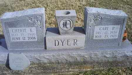 DYER, CARL R. - Ross County, Ohio | CARL R. DYER - Ohio Gravestone Photos