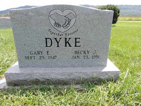 DYKE, BECKY J - Ross County, Ohio | BECKY J DYKE - Ohio Gravestone Photos