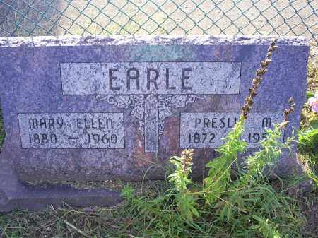 EARLE, MARY ELLEN - Ross County, Ohio | MARY ELLEN EARLE - Ohio Gravestone Photos