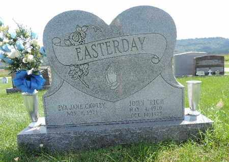 CAWLEY EASTERDAY, EVA JANE - Ross County, Ohio | EVA JANE CAWLEY EASTERDAY - Ohio Gravestone Photos