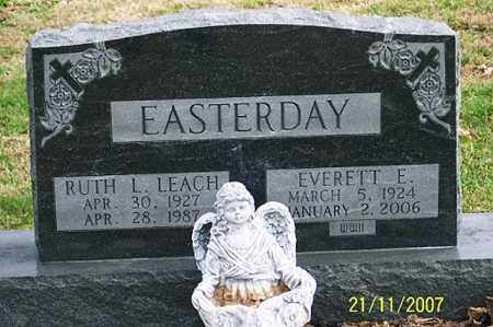 EASTERDAY, EVERETT E. - Ross County, Ohio | EVERETT E. EASTERDAY - Ohio Gravestone Photos
