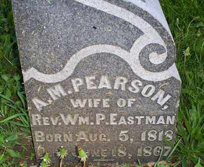 PEARSON EASTMAN, A. M. - Ross County, Ohio | A. M. PEARSON EASTMAN - Ohio Gravestone Photos
