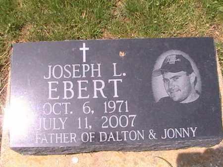 EBERT, JOSEPH L. - Ross County, Ohio | JOSEPH L. EBERT - Ohio Gravestone Photos