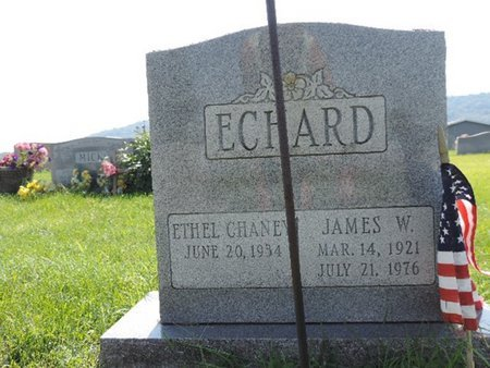 CHANEY ECHARD, ETHEL - Ross County, Ohio | ETHEL CHANEY ECHARD - Ohio Gravestone Photos