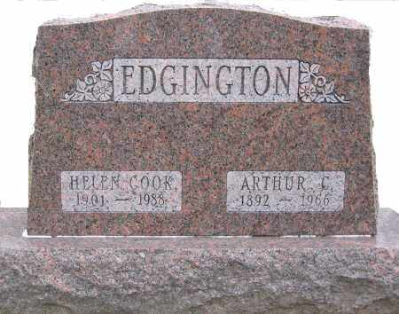 COOK EDGINGTON, HELEN - Ross County, Ohio | HELEN COOK EDGINGTON - Ohio Gravestone Photos