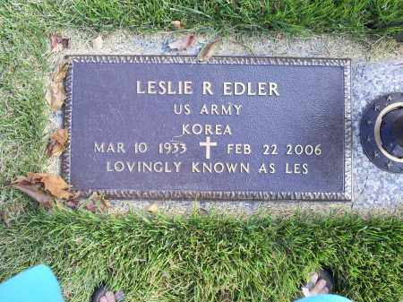 "EDLER, LESLIE R. ""LES"" - Ross County, Ohio 
