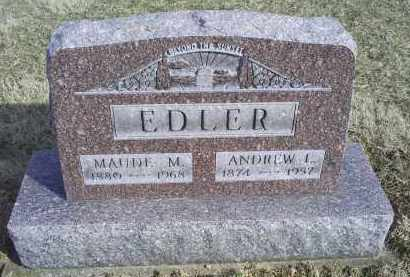 EDLER, MAUDE M. - Ross County, Ohio | MAUDE M. EDLER - Ohio Gravestone Photos