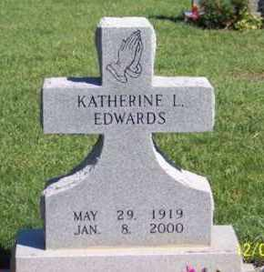 EDWARDS, KATHERINE L. - Ross County, Ohio | KATHERINE L. EDWARDS - Ohio Gravestone Photos
