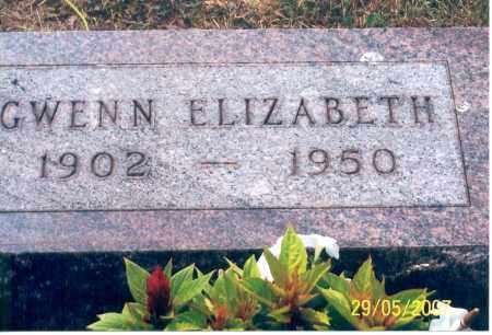ELIZABETH, GWENN - Ross County, Ohio | GWENN ELIZABETH - Ohio Gravestone Photos