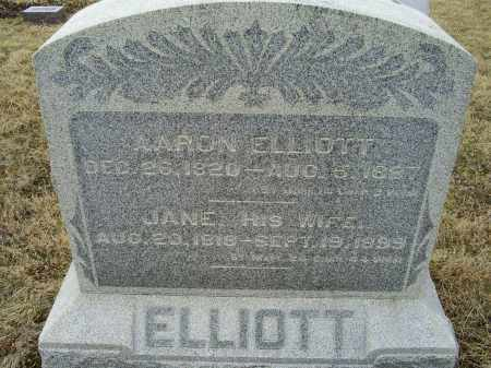 ELLIOTT, AARON - Ross County, Ohio | AARON ELLIOTT - Ohio Gravestone Photos