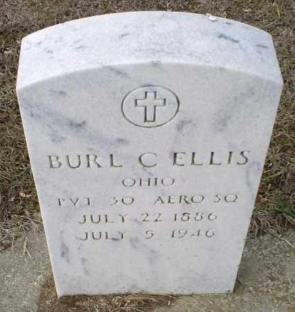 ELLIS, BURL C. - Ross County, Ohio | BURL C. ELLIS - Ohio Gravestone Photos