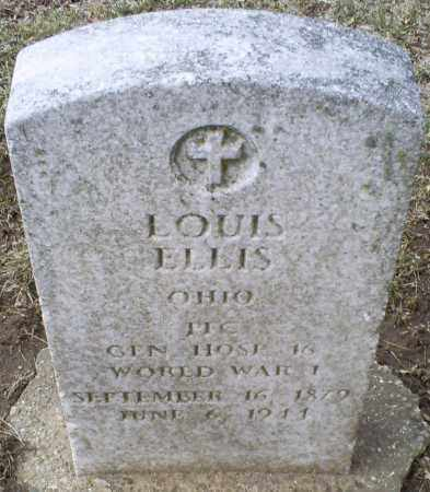 ELLIS, LOUIS - Ross County, Ohio | LOUIS ELLIS - Ohio Gravestone Photos