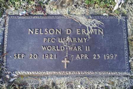 ERWIN, NELSON D. - Ross County, Ohio | NELSON D. ERWIN - Ohio Gravestone Photos