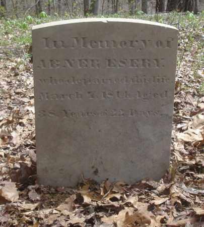 ESERY, ABNER - Ross County, Ohio | ABNER ESERY - Ohio Gravestone Photos