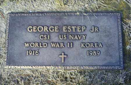 ESTEP, GEORGE JR. - Ross County, Ohio | GEORGE JR. ESTEP - Ohio Gravestone Photos