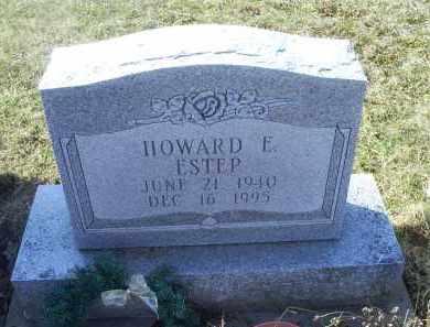 ESTEP, HOWARD E. - Ross County, Ohio   HOWARD E. ESTEP - Ohio Gravestone Photos