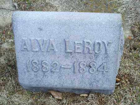 EVANS, ALVA LEROY - Ross County, Ohio | ALVA LEROY EVANS - Ohio Gravestone Photos