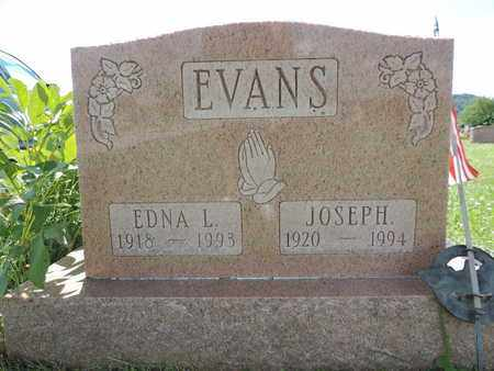 EVANS, EDNA L. - Ross County, Ohio | EDNA L. EVANS - Ohio Gravestone Photos