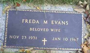 EVANS, FREDA M. - Ross County, Ohio | FREDA M. EVANS - Ohio Gravestone Photos