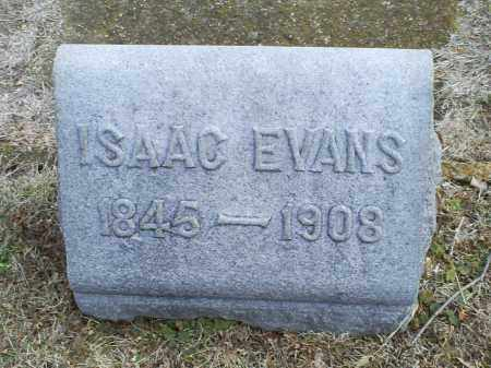 EVANS, ISAAC - Ross County, Ohio | ISAAC EVANS - Ohio Gravestone Photos
