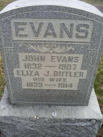 EVANS, ELIZA J. - Ross County, Ohio | ELIZA J. EVANS - Ohio Gravestone Photos