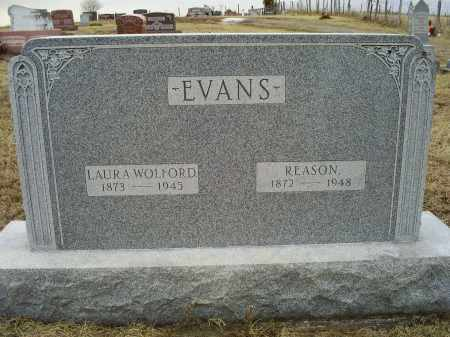 EVANS, REASON - Ross County, Ohio | REASON EVANS - Ohio Gravestone Photos