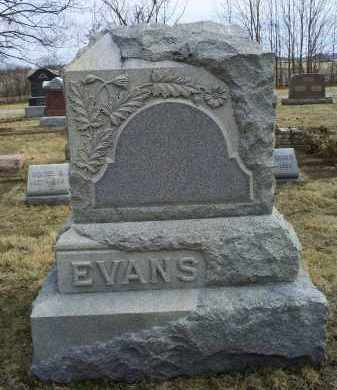 EVANS, MONUMENT - Ross County, Ohio | MONUMENT EVANS - Ohio Gravestone Photos