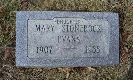 EVANS, MARY - Ross County, Ohio | MARY EVANS - Ohio Gravestone Photos