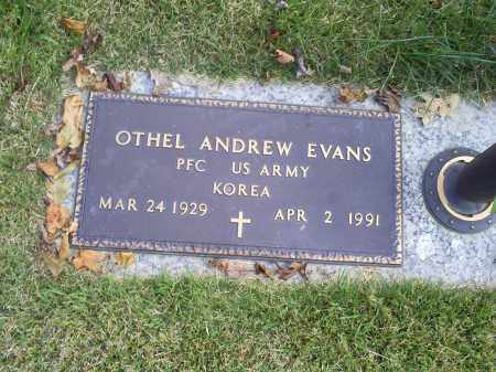 EVANS, OTHEL ANDREW - Ross County, Ohio | OTHEL ANDREW EVANS - Ohio Gravestone Photos
