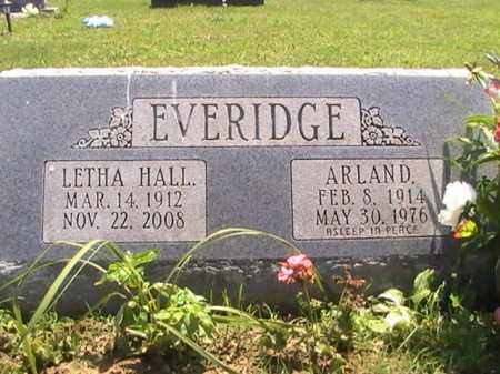 EVERIDGE, LETHA - Ross County, Ohio | LETHA EVERIDGE - Ohio Gravestone Photos