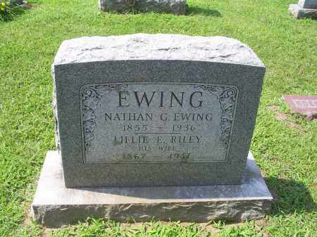 RILEY EWING, LILLIE E. - Ross County, Ohio | LILLIE E. RILEY EWING - Ohio Gravestone Photos