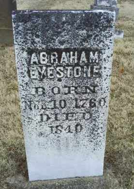 EYESTONE, ABRAHAM - Ross County, Ohio | ABRAHAM EYESTONE - Ohio Gravestone Photos