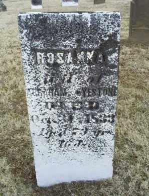 EYESTONE, ROSANNA - Ross County, Ohio | ROSANNA EYESTONE - Ohio Gravestone Photos