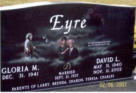 EYRE, GLORIA M. - Ross County, Ohio | GLORIA M. EYRE - Ohio Gravestone Photos