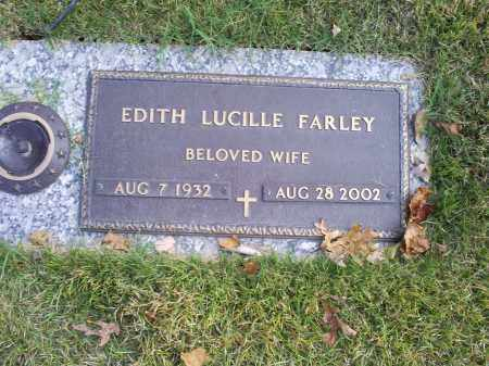 FARLEY, EDITH LUCILLE - Ross County, Ohio | EDITH LUCILLE FARLEY - Ohio Gravestone Photos