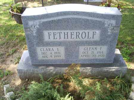 FETHEROLF, GLENN F. - Ross County, Ohio | GLENN F. FETHEROLF - Ohio Gravestone Photos