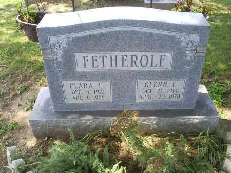 FETHEROLF, GLENN F. - Ross County, Ohio | GLENN F. FETHEROLF - Ohio Gravestone Photos