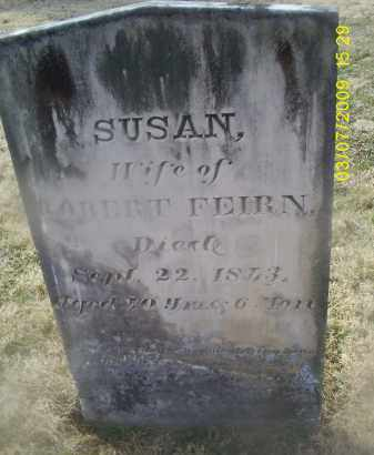 FEIRN, SUSAN - Ross County, Ohio | SUSAN FEIRN - Ohio Gravestone Photos