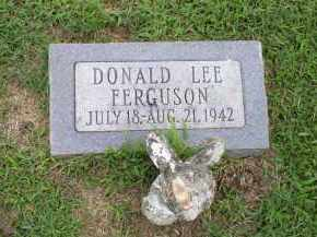 FERGUSON, DONALD LEE - Ross County, Ohio | DONALD LEE FERGUSON - Ohio Gravestone Photos