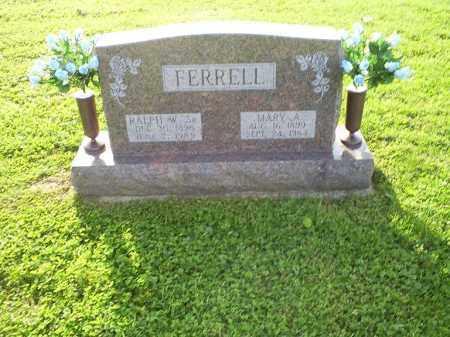 FERRELL, RALPH W. SR. - Ross County, Ohio | RALPH W. SR. FERRELL - Ohio Gravestone Photos