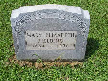 FIELDING, MARY ELIZABETH - Ross County, Ohio | MARY ELIZABETH FIELDING - Ohio Gravestone Photos