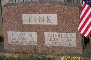FINK, LEONA M. - Ross County, Ohio | LEONA M. FINK - Ohio Gravestone Photos