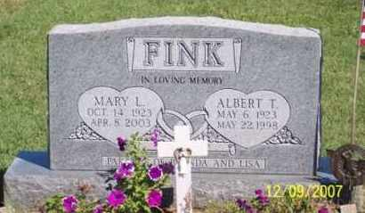 FINK, ALBERT T. - Ross County, Ohio | ALBERT T. FINK - Ohio Gravestone Photos