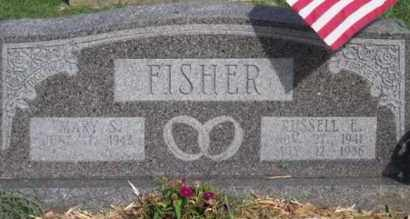 FISHER, RUSSELL E. - Ross County, Ohio | RUSSELL E. FISHER - Ohio Gravestone Photos