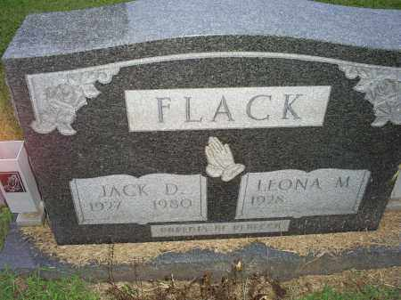 FLACK, JACK D. - Ross County, Ohio | JACK D. FLACK - Ohio Gravestone Photos
