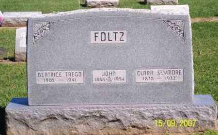 FOLTZ, JOHN - Ross County, Ohio | JOHN FOLTZ - Ohio Gravestone Photos